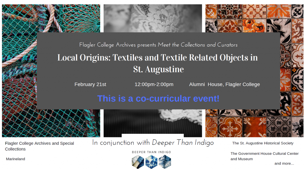 image of textile event poster